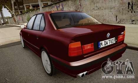 BMW M5 (E34) 1995 v1.0 for GTA 4 side view