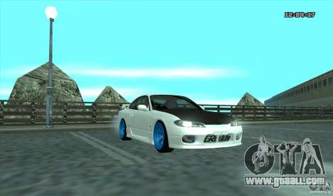 Nissan Silvia S15 Stance for GTA San Andreas left view