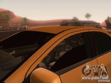 Mitsubishi  Lancer Evo X BMS Edition for GTA San Andreas