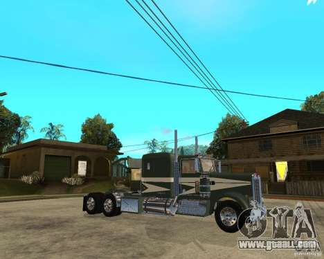 1974 Kenworth W900 for GTA San Andreas right view