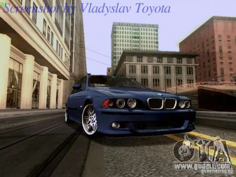 BMW E39 M5 2004 for GTA San Andreas