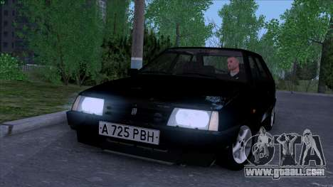 VAZ 2109 for GTA San Andreas side view