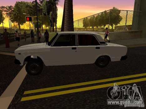 VAZ 2107 Avtosh Style for GTA San Andreas left view