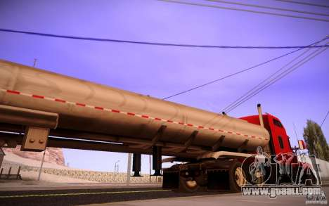 Trailer Kenworth T600 for GTA San Andreas left view
