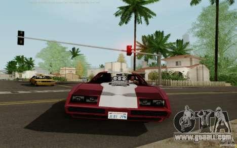 Phoenix HD for GTA San Andreas back left view