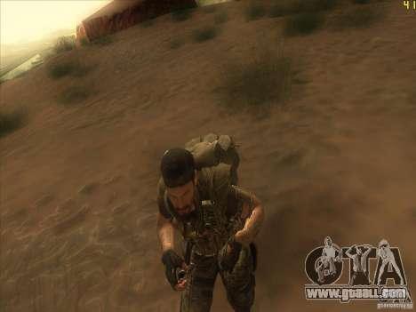 Frank Woods for GTA San Andreas forth screenshot