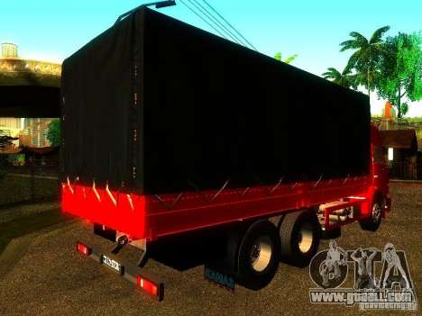 KAMAZ 53215 for GTA San Andreas back left view