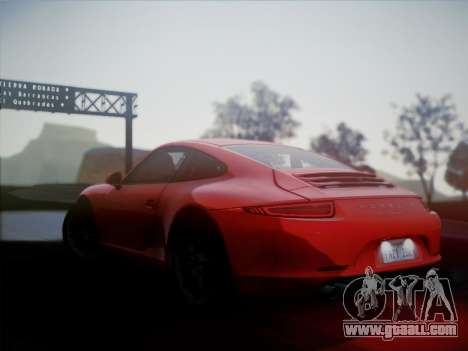 Porsche 911 (991) Carrera S for GTA San Andreas left view