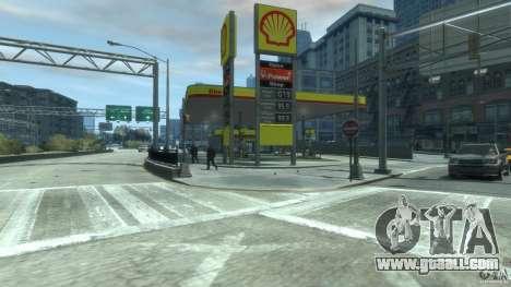 Shell Petrol Station V2 Updated for GTA 4