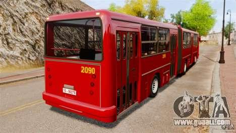 Ikarus 280 for GTA 4 back left view