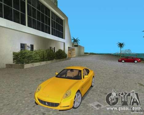 Ferrari 612 Scaglietti for GTA Vice City