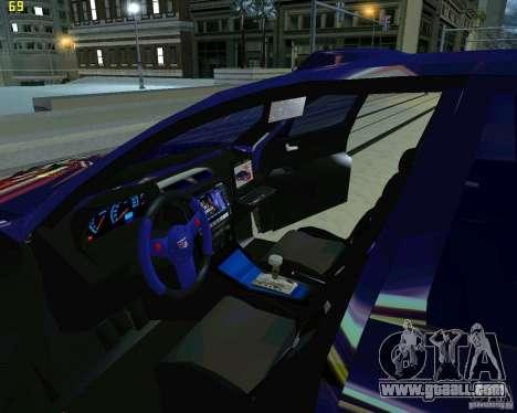 Skoda Octavia III Tuning for GTA San Andreas side view