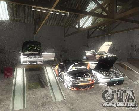 BMW 135i Hella Drift for GTA San Andreas inner view