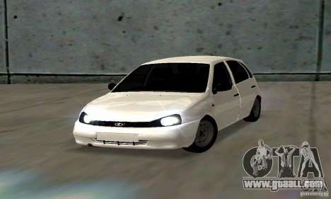 Lada Kalina Hatchback Stock for GTA San Andreas