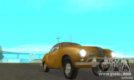 Volkswagen Karmann Ghia for GTA San Andreas side view