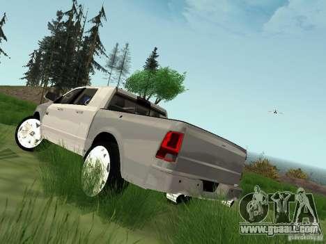 Dodge Ram 1500 Longhorn 2012 for GTA San Andreas left view