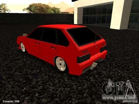 VAZ 2109 Opera Turbo for GTA San Andreas left view