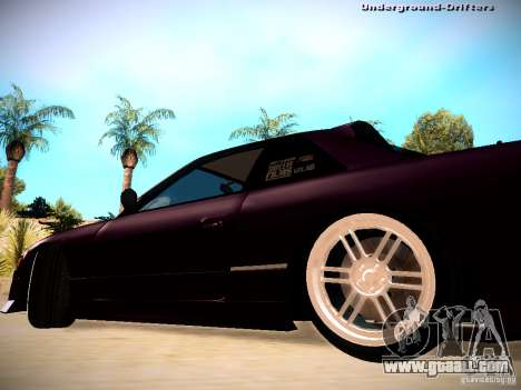 Nissan Silvia S13 Tandem Of DIE for GTA San Andreas back left view