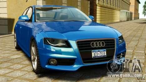 Audi A4 2010 for GTA 4
