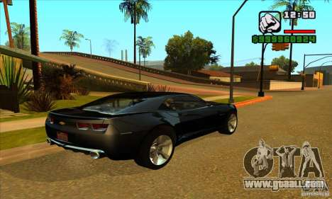 Chevrolet Camaro Concept Z06 2007 for GTA San Andreas left view