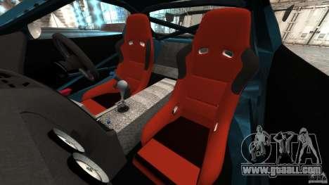 Mazda RX-7 RE-Amemiya v2 for GTA 4 inner view