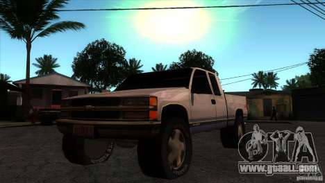 Chevrolet Silverado 1996 for GTA San Andreas