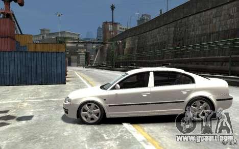 Skoda SuperB for GTA 4 left view