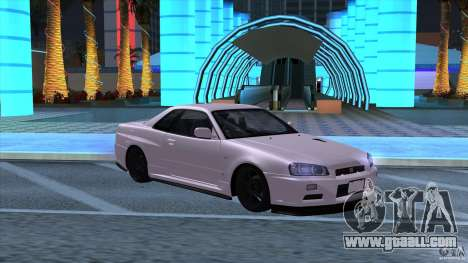 Nissan Skyline GTR-34 M-spec Nur for GTA San Andreas