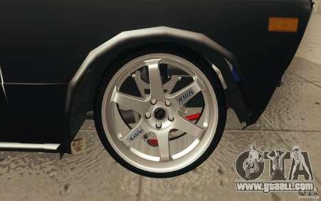 Vaz 2106 Lada Drift Tuned for GTA San Andreas wheels