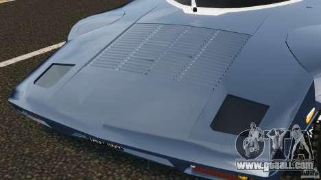 Lancia Stratos v1.1 for GTA 4 inner view