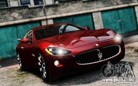 Maserati Gran Turismo S 2009 for GTA 4 back left view