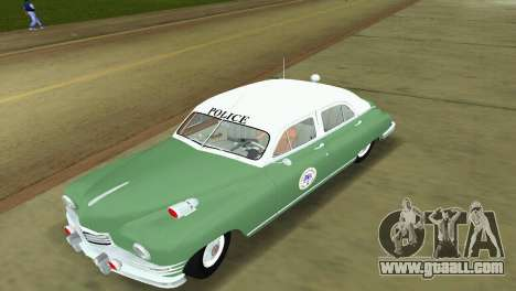 Packard Standard Eight Touring Sedan Police 1948 for GTA Vice City left view