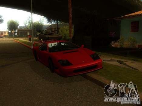 New Car in Grove Street for GTA San Andreas forth screenshot