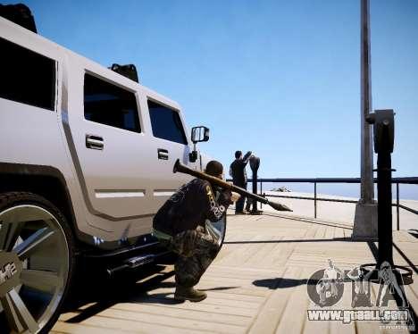 CoD Black Ops Hudson for GTA 4 ninth screenshot