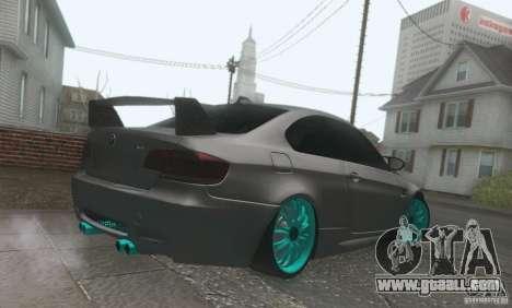 BMW M3 E92 Hellaflush v1.0 for GTA San Andreas inner view