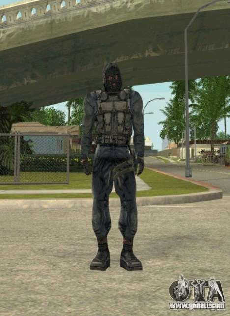 Grouping of Mercenaries from a stalker for GTA San Andreas ninth screenshot