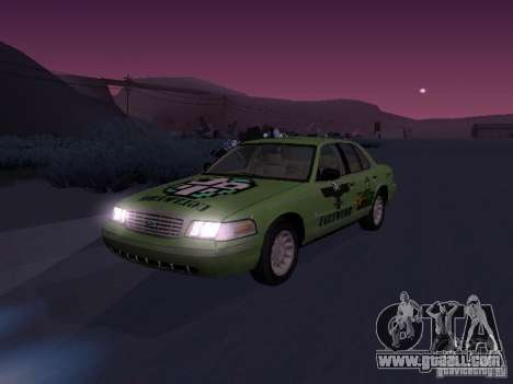 Ford Crown Victoria for GTA San Andreas upper view