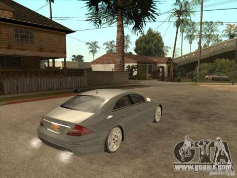 Mercedes-Benz CLS63 AMG for GTA San Andreas