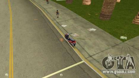 Suzuki Address 110 Custom Ver.1.3 for GTA Vice City right view