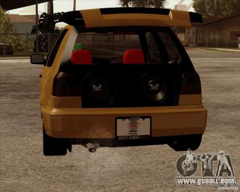 VW Golf MK 4 low & slow for GTA San Andreas right view