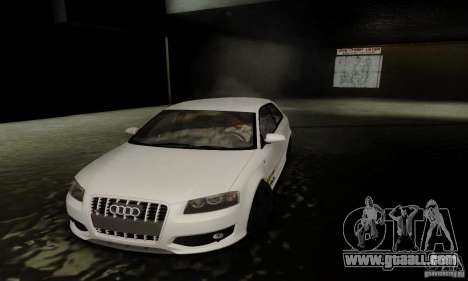 Audi S3 for GTA San Andreas upper view