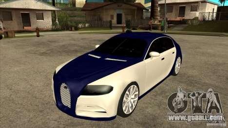 Bugatti Galibier 16c for GTA San Andreas back view