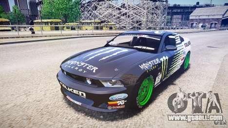 Ford Mustang GT Falken Tire v2.0 for GTA 4