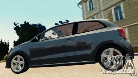 Volkswagen Polo v2.0 for GTA 4 back left view