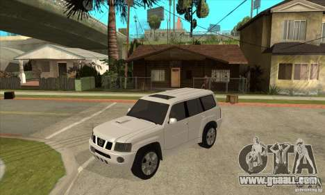 Nissan Patrol 2005 Stock for GTA San Andreas side view