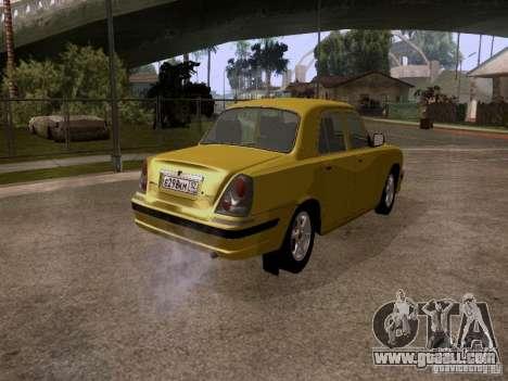 GAZ Volga 31107 for GTA San Andreas back left view