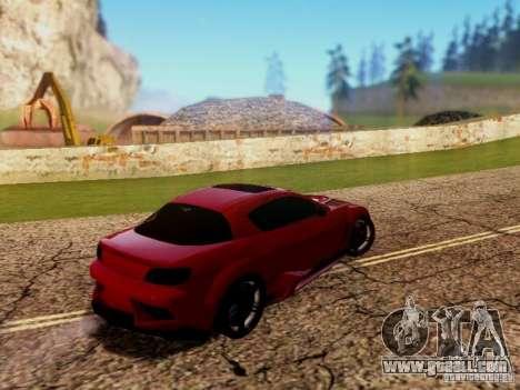 Mazda RX8 Reventon for GTA San Andreas right view