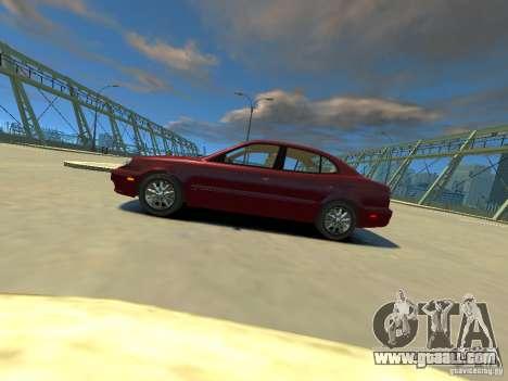 Daewoo Leganza CDX for GTA 4 left view
