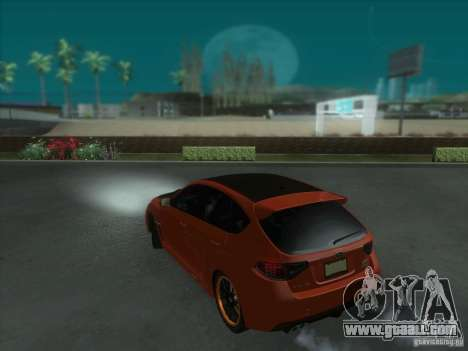Subaru Impreza WRX STi for GTA San Andreas wheels