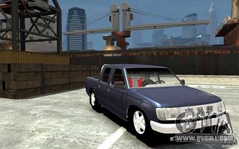 Nissan Pickup V 2005 for GTA 4 back view